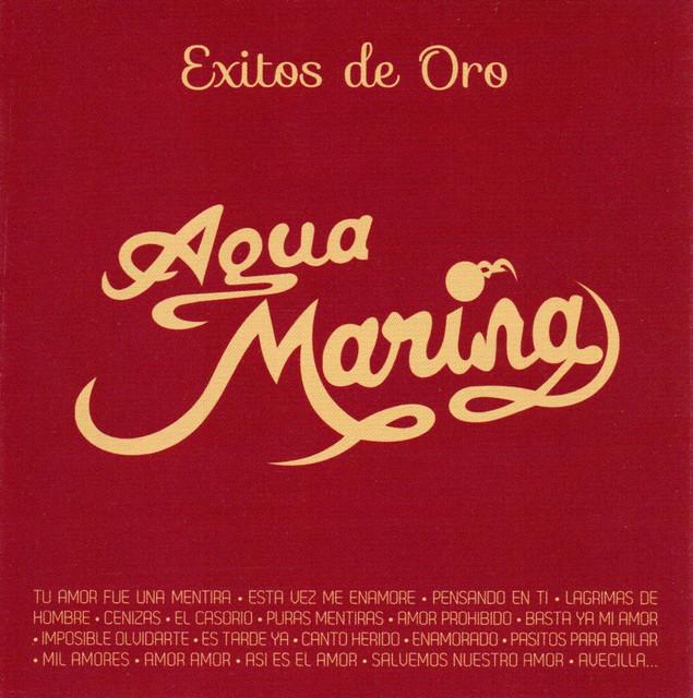 Album cover for Éxitos de Oro by Agua Marina