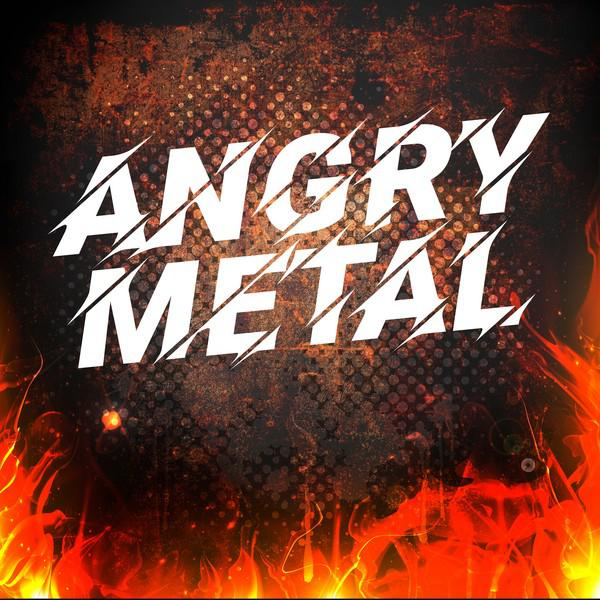 Various Artists Angry Metal album cover