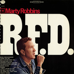 Marty Robbins Only a Picture Stops Time cover