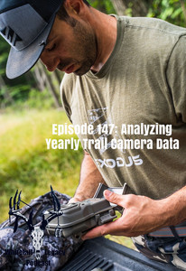 Episode 147: Analyzing Yearly Trail Cam Data