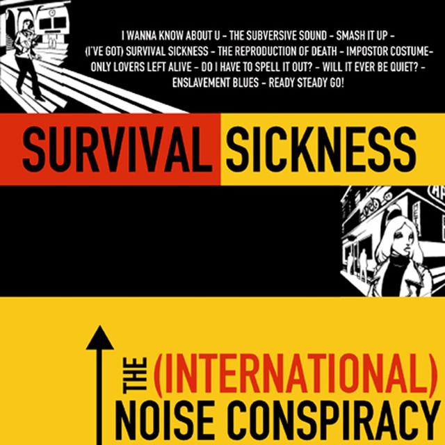 Skivomslag för (International) Noise Conspiracy: Survival Sickness