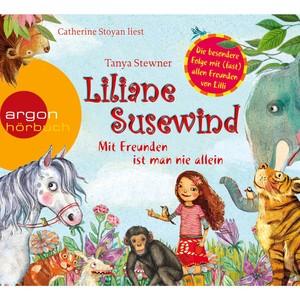 Liliane Susewind - Mit Freunden ist man nie allein (Ungekürzte Fassung) Audiobook