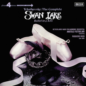 Tchaikovsky: Swan Lake Albumcover