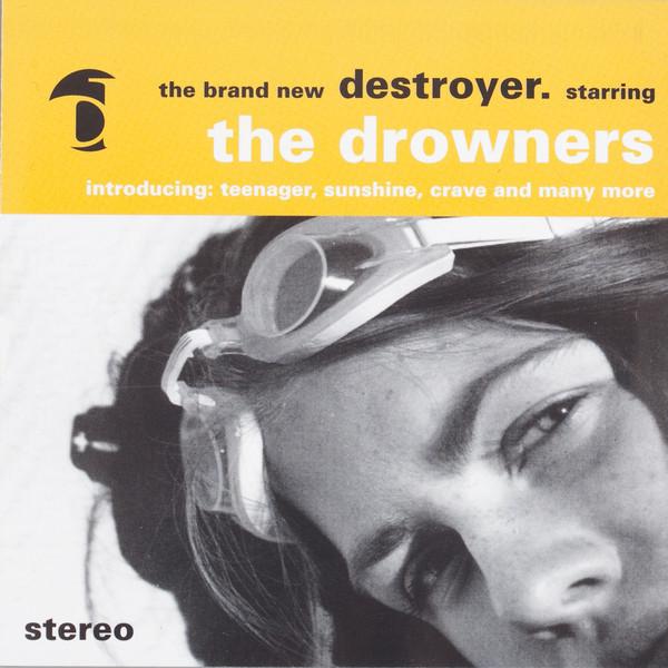 Skivomslag för Drowners: Destroyer
