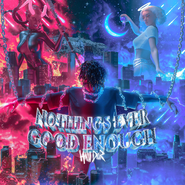 Album cover for nothings ever good enough by iann dior
