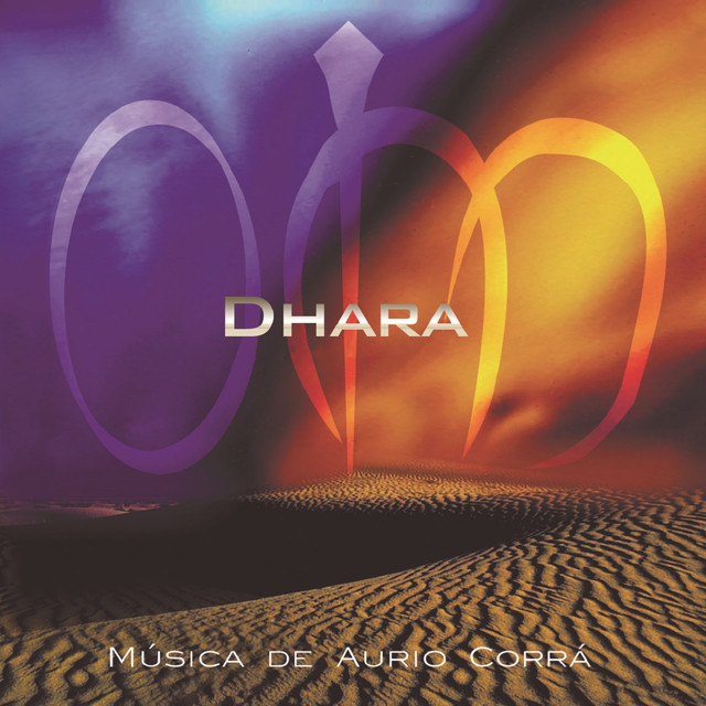 Album cover for Om Dhara by Aurio Corrá