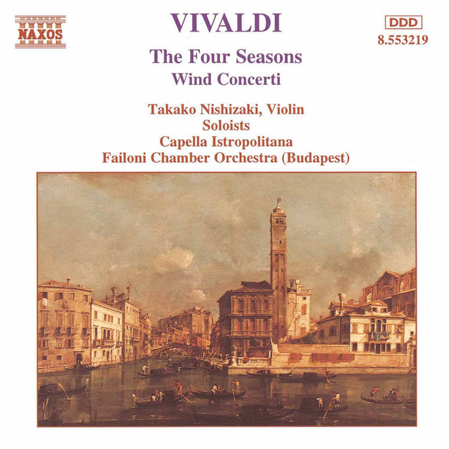 Vivaldi: 4 Seasons (The) / Wind Concertos Albumcover