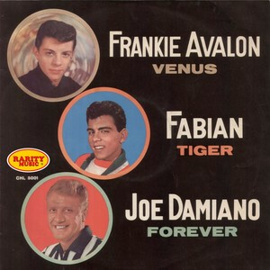 Rarity Music Pop, Vol. 24 (Peter De Angelis Presents Frankie Avalon Fabian, Joe Damiano) Albumcover