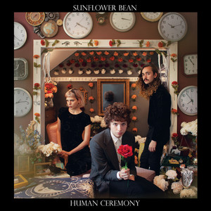 Album cover for human ceremony by Sunflower Bean