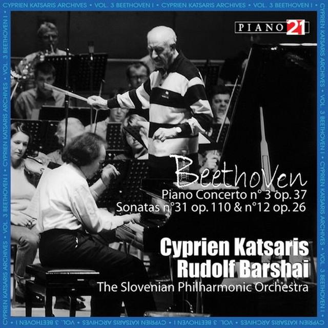 Beethoven: Piano Concerto No.3 Albumcover