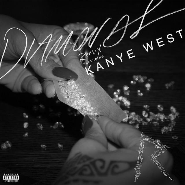 скачать песню rihanna diamonds remix