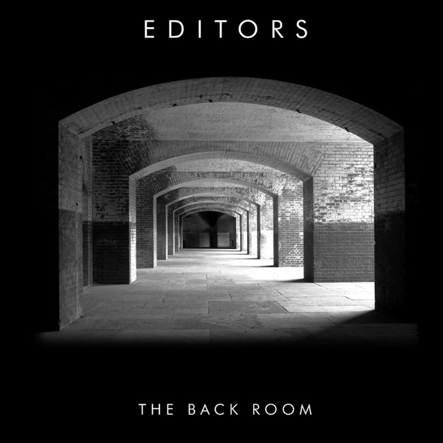 Album cover for The Back Room by Editors