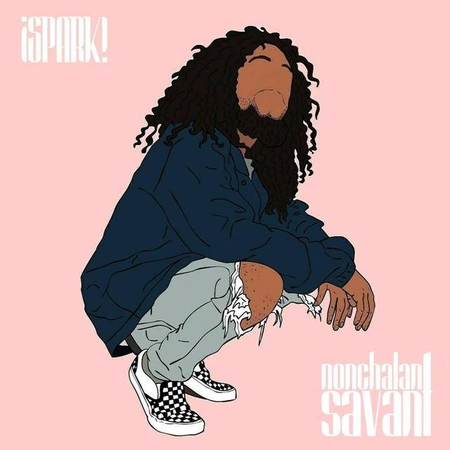 Album cover for ¡spark! by Nonchalant Savant