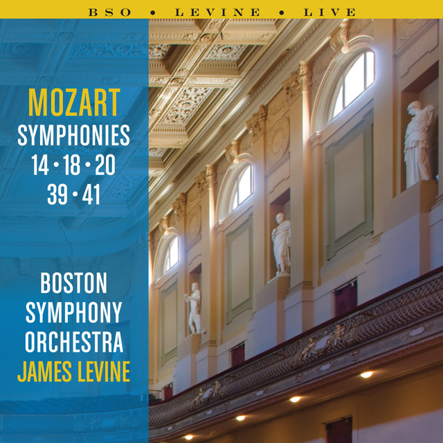 Mozart Symphonies: 14, 18, 20, 39 and 41 Albumcover