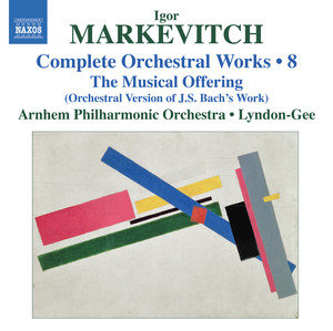 Markevitch: Complete Orchestral Works, Vol. 8 album