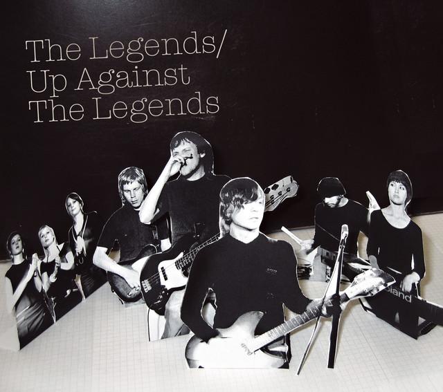 Skivomslag för Legends: Up Against The Legends