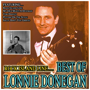 Rock Island Line…Best Of Lonnie Donegan Albumcover