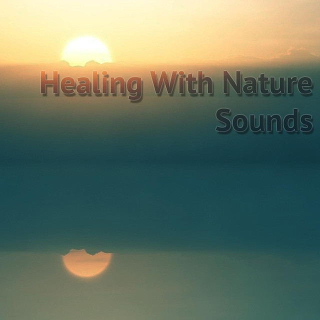 Album cover for Healing With Nature Sounds by Meditación Musical