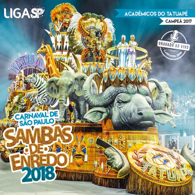 Album cover for Carnaval Sp 2018 - Sambas de Enredo das Escolas de Samba de São Paulo (Ao Vivo) by Various Artists