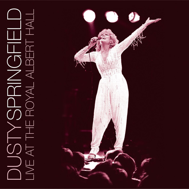 Dusty Springfield LIVE AT THE ALBERT album cover