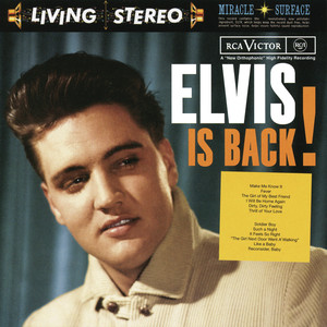 Elvis Is Back Albumcover