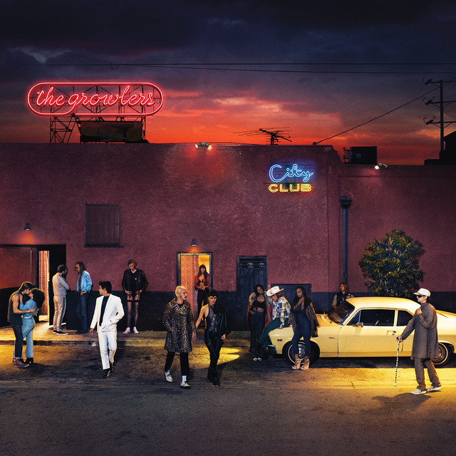 Album cover for City Club by The Growlers