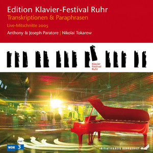 Transcriptions & Paraphrases: Wagner - Strauss (Edition Ruhr Piano Festival, Vol. 9) [Live] Albumcover
