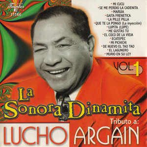 Tributo a Lucho Argaín, Vol. 1 Albumcover