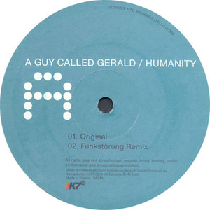 A Guy Called Gerald Humanity - Funkstörung Mix cover