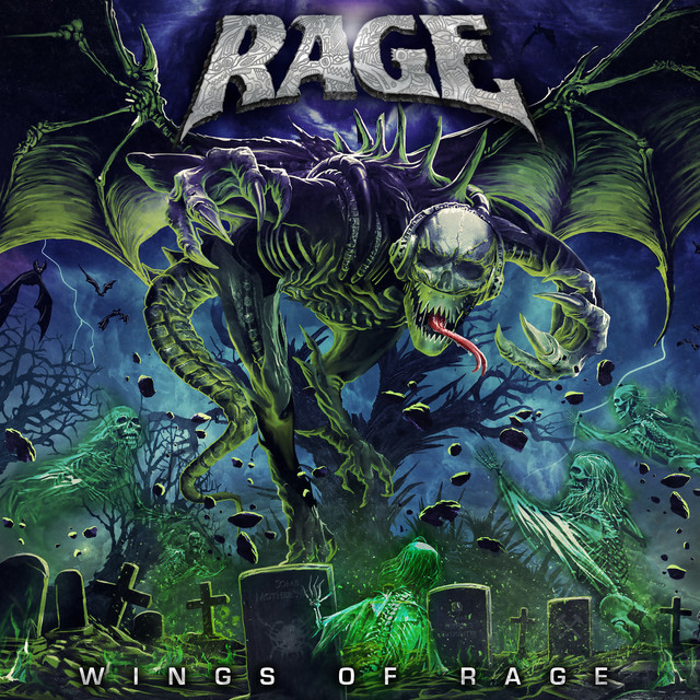 Album cover for Wings of Rage by Rage
