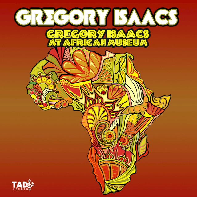 Album cover for Gregory Isaacs at African Museum by Gregory Isaacs