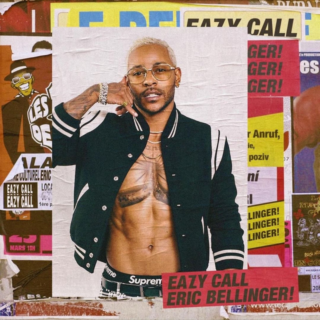 Album cover for Eazy Call by Eric Bellinger