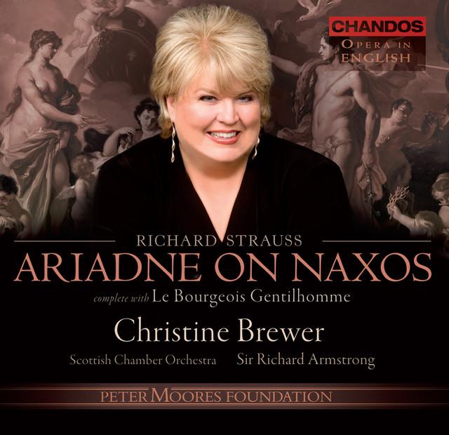 Strauss: Le Bourgeois Gentilhomme / Ariadne auf Naxos Albumcover