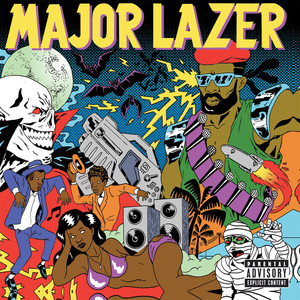 Major Lazer Pon De Floor cover