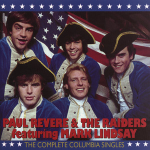 Paul Revere Steppin' Out cover