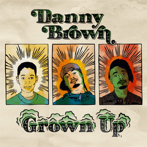 Danny Brown Grown Up cover