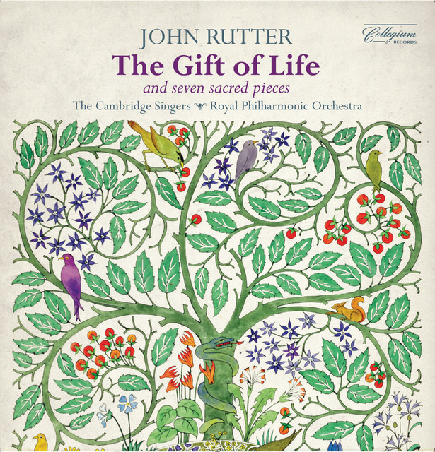 Rutter: The Gift of Life & Seven Sacred Pieces Albumcover