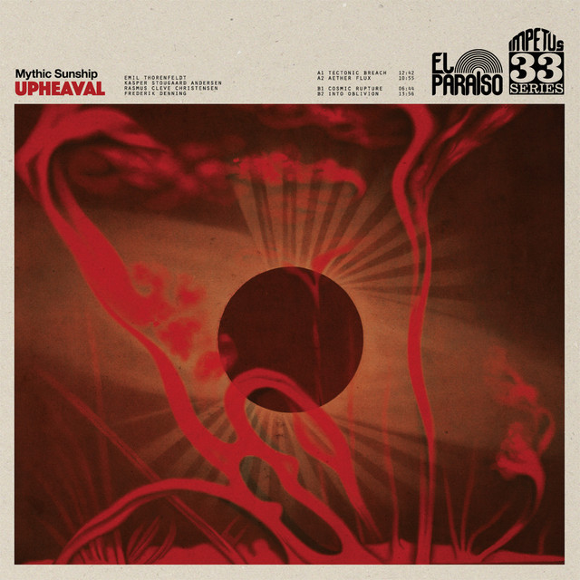 Album cover for Upheaval by Mythic Sunship