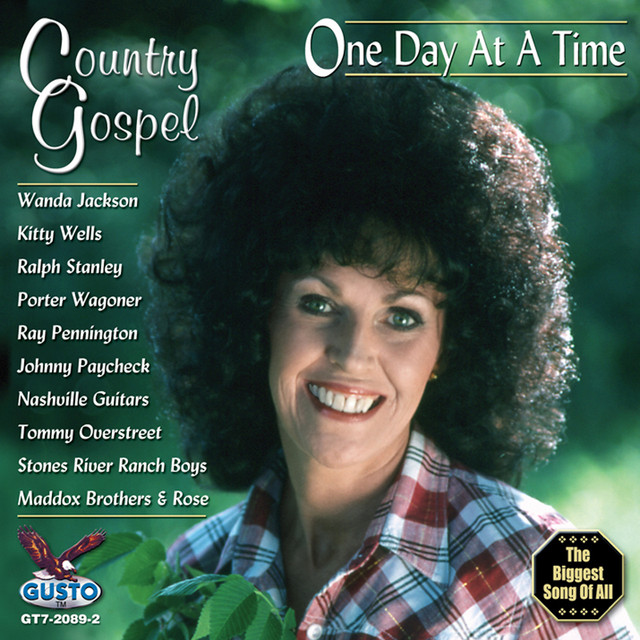 Various Artists One Day At A Time - Country Gospel album cover