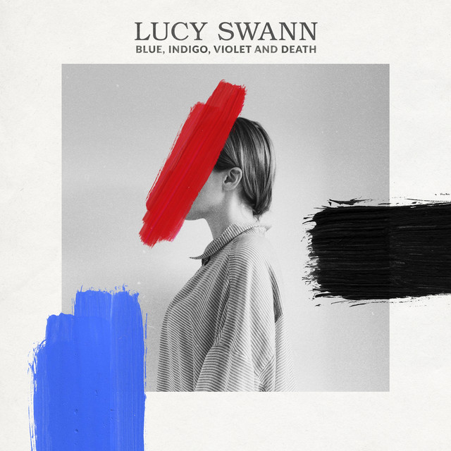 Album cover for Blue, Indigo, Violet and Death by Lucy Swann