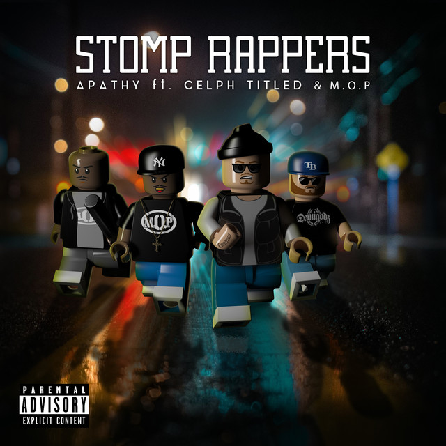 Stomp Rappers - Maxi-Single