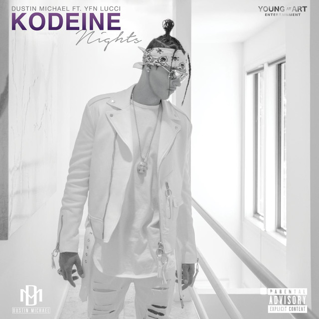 Kodeine Nights (feat  Yfn Lucci) by Dustin Michael on Spotify