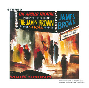 James Brown Think - Live At The Apollo Theater/1962 cover