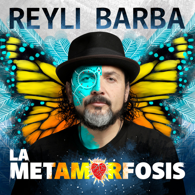Album cover for La Metamorfosis by Reyli Barba