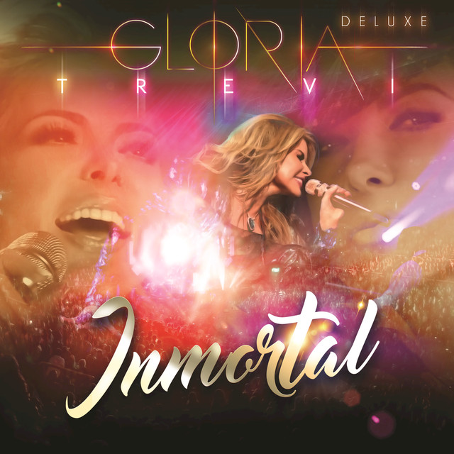 Album cover for Inmortal (En Vivo/Deluxe) by Gloria Trevi