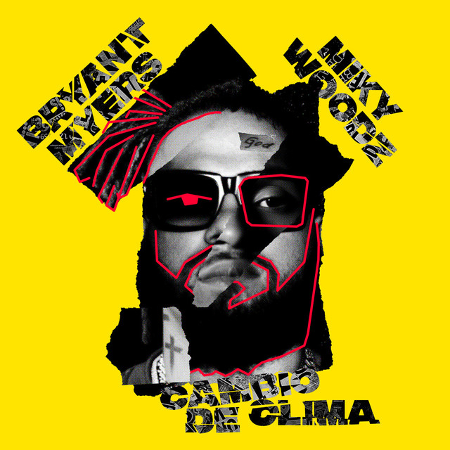 Album cover for Cambio de Clima by Bryant Myers, Miky Woodz