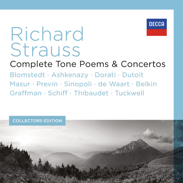Richard Strauss - Complete Tone Poems & Concertos (13 Components) Albumcover