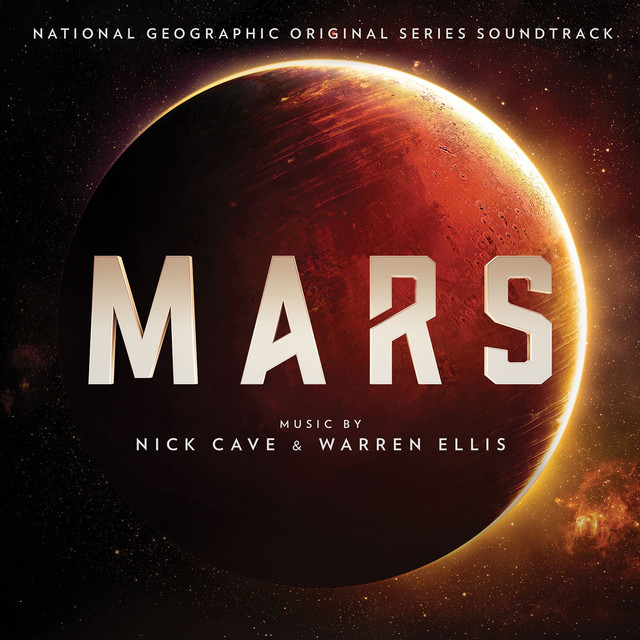 Nick Cave, Warren Ellis Mars album cover