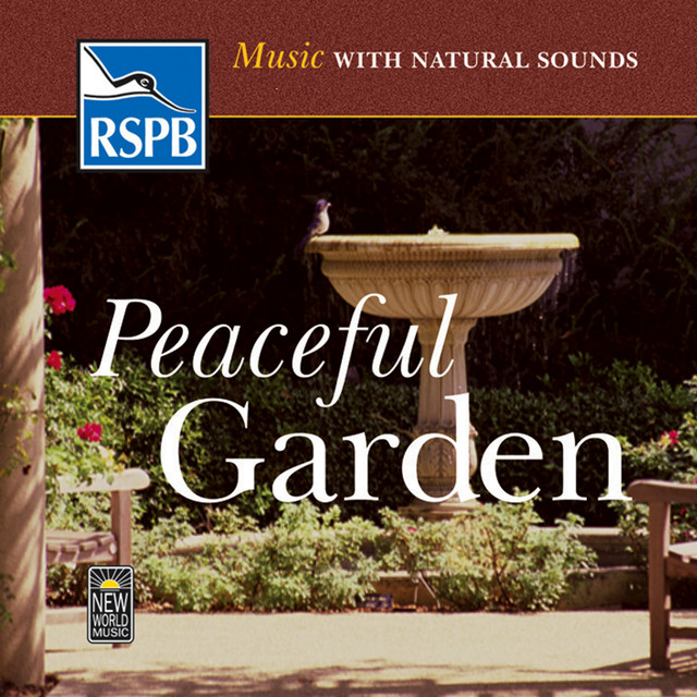 Music with Natural Sounds: Peaceful Garden Albumcover