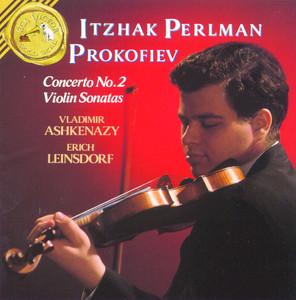 Prokofiev: Violin Sonatas - Concerto 2 Albumcover